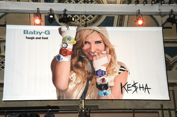 Casio's Shock the World 2010 Featuring Ke$ha Press Conference