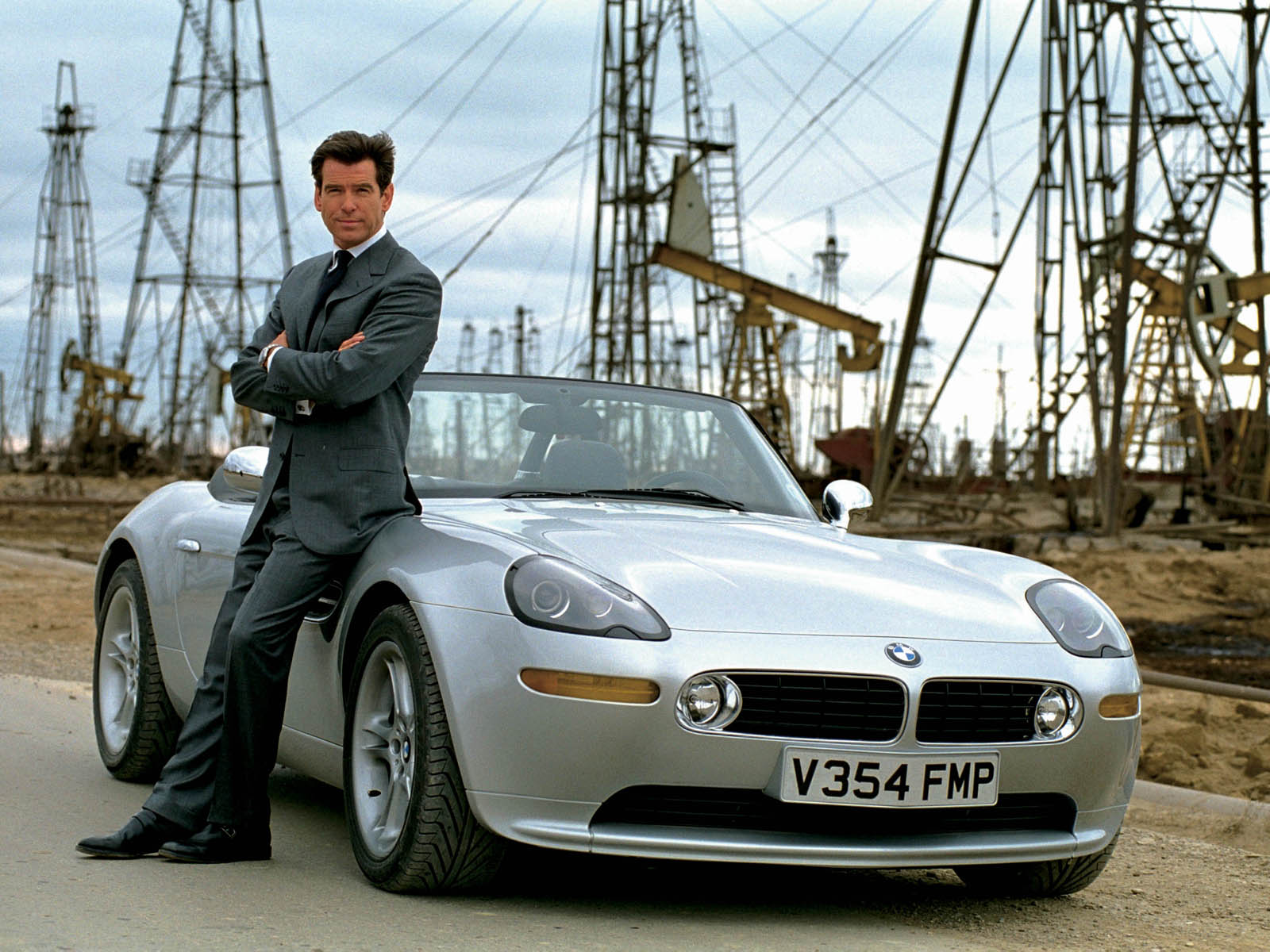 BMW Z3 roadster in Goldeneye 007