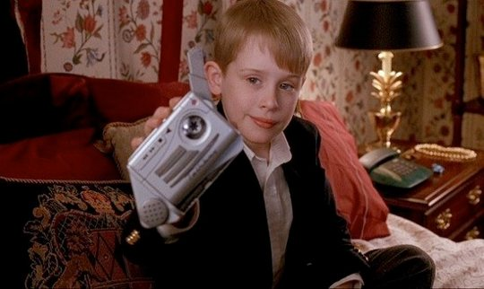 Talkboy in Home Alone 2